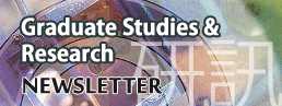 Graduate Studies & Research Newsletter